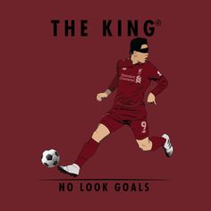 Shop Roberto Firmino - The King of No Look Goals lfc t-shirts designed by anchair as well as other lfc merchandise at TeePublic. Liverpool Players, Liverpool Football Club, Liverpool Fc, Good Soccer Players, Football Players, This Is Anfield, Pop Art Wallpaper, Steven Gerrard, Art Pics