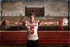 guy football pose - Shirk Photography