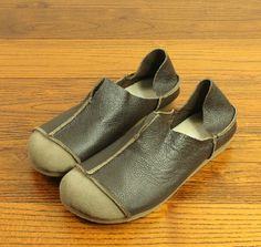 Handmade Shoes,Flat Shoes, Retro Leather Shoes, Casual Shoes,Very Soft and Comfortable Shoes, Pregnant women shoes Toe Shoes, Flat Shoes, Leather Work Bag, Work Bags, Wardrobe Ideas, Comfortable Shoes, Leather Sandals, Casual Shoes, Footwear