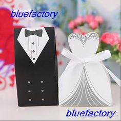 Free shipping, $0.19/Piece:buy wholesale White Wedding Gown and Black Suit Candy Boxes Wedding ceremony Favors Favor holders Gift box Candy Bag FREE SHIPPING from DHgate.com,get worldwide delivery and buyer protection service.