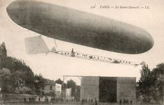 Santos-Dumont dirigeable CPA 1904 - List of Santos-Dumont aircraft - Wikipedia, the free encyclopedia
