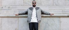 #iuter #rosone #varsity #jacket #embroidered #embroidery