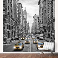 Fifth Avenue is a major thoroughfare in the center of the borough of Manhattan in New York City. A very decorative and classical design! A modern wall decoration.