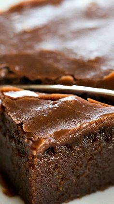 Coca-Cola Chocolate Cake ~ A classic Coca-Cola Cake - supremely moist chocolate sheet cake with a boiled chocolate frosting.
