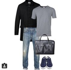 Casual Eco Men, made by Martin. Thank you for your great Outfit!! Hey Men - Hope do you like it? Where you can buy: Denim Pant: @fine_birds | Tee & Jacket: @glore_hamburg / @glore.de | Shoes: @greenality | Leatherbag: @deepmello | #Mode #style #polyvore #casualecomen #ecoissexy #slowfashionblogger #sustainable #sustainablefashion #ethical #ethicalfashion #greenfashion #fash_rev #fairtrade #whomadeyourclothes #ecomen #menswear #menfashion #ootd #outfitr