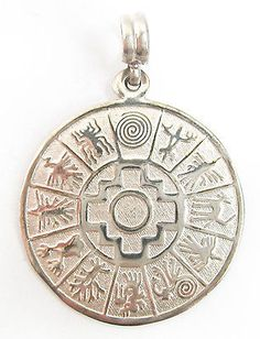 Peruvian Nazca Symbols Sterling Silver Inca Cross Calendar Naska Pendant Peru | Jewelry & Watches, Ethnic, Regional & Tribal, South American | eBay!