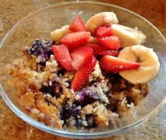 You wouldn't believe how delicious Baked Oatmeal is! Breakfast Pictures, Baked Oatmeal, Bed And Breakfast, Acai Bowl, Food, Baked Oats, Acai Berry Bowl, Meals, Yemek