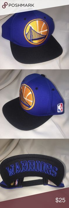 best loved e15f6 b26fb Golden state warriors SnapBack hat Mitchell ness Like new condition Golden  stare warriors SnapBack Mitchell   ness Mitchell   Ness Accessories Hats