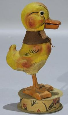 Mechanical Duck Candy Container