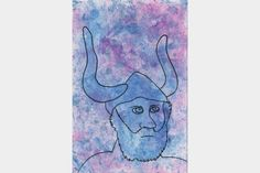 "Artmoney - unique piece of art doubling as a gift card ""Viking money"""