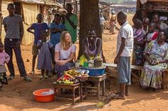 Kimberley Walsh visits Uganda for Red Nose Day!
