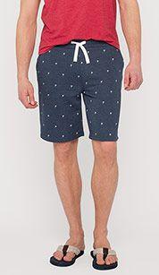 Sweat shorts in dark blue