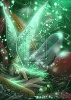 """TINKERBELL"" by ~rinoatilmitt Digital Art / Paintings & Airbrushing / Fantasy"