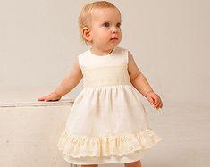 Baby blessing dress | Etsy Baby Blessing Dress, Girls Dresses, Flower Girl Dresses, Babe, Blessed, Wedding Dresses, Etsy, Fashion, Infant Dresses