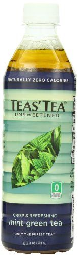 Teas' Tea Unsweetened Mint Green Tea Ounce (Pack of Organic Zero Calories No Sugars No Artificial Sweeteners Antioxidant Rich High in Vitamin C Loose Green Tea, Mint Green, Mint Iced Tea, Iced Tea Maker, Teas Tea, Gourmet Recipes, Pure Products, Pantry