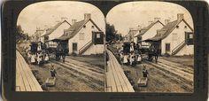 Avenue Royale a Beauport vers les Chutes vers 1900