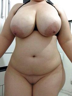 Girl big boobs selfie Chubby