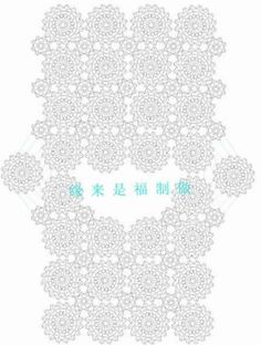 Crochet top blouse granny squares Ideas for 2019 Crochet Shawl Diagram, Crochet Motifs, Crochet Chart, Crochet Patterns, Pull Crochet, Crochet Gloves, Crochet Top, Crochet Flower Squares, Crochet Headband Pattern