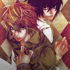 Light Yagami | Kira and L Lawliet        _Death Note