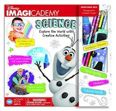 The Wonder Forge Disney Imagicademy Disney Frozen Science Activity Book ** BEST VALUE BUY on Amazon