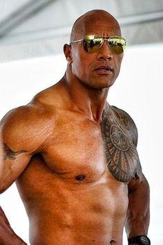 Pin for Later: 27 Shirtless Photos of Dwayne Johnson Guaranteed to Get Your Heart Racing