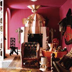 Beaded Beauty: Yoruba Chairs on the AphroChic blog.