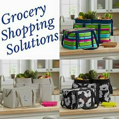 Grocery shopping solutions from Thirty-One  www.mythirtyone.ca/sk Thirty One with Kay on Facebook Groups