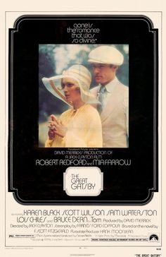 The Great Gatsby 11x17 Movie Poster (1974)