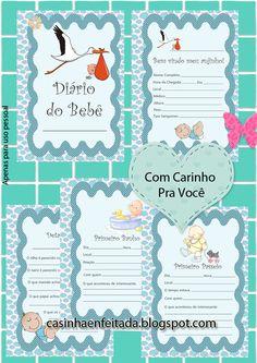 diario do bebe para imprimir gratis baixar download