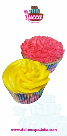Cupcakes Colores   #Cupcakes