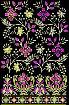 #Damantop #Duppata #topduppta #EmbroideryDesigns #tedeex #embfile #embroidery Embroidery Works, Indian Embroidery, Embroidery Fashion, Hand Embroidery Designs, Embroidery Patterns, Celtic Border, Bull Elephant, Art Drawings Sketches Simple, Textile Patterns