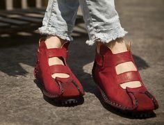 Handmade Summer Shoes for WomenFlat Shoes Casual par HerHis sur Etsy