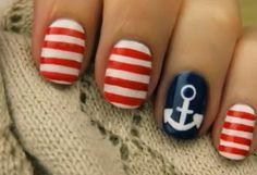 US Navy nail art - Google Search
