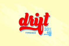 Drift Script (30% Off) by Zeepfeed on @creativemarket