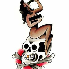 Paul Nycz combines the sensuous and the sordid with traditional aesthetic. Black censor bar not included. This is our sauciest temporary tattoo, are you brave enough to wear it? I Tattoo, Cool Tattoos, Amazing Tattoos, Paul Design, Monkey Mind, Diamond Tattoos, Temporary Tattoo, Tattoos For Women, Pin Up