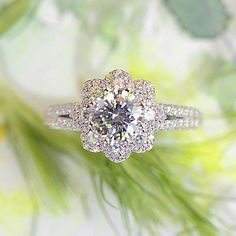 Love this because it looks like a flower! Scott Kay Heaven's Gate collection. Style #M2671R515