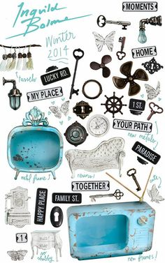 Prima Marketing another super gorgeous collection by Ingvild's junkyard findings and shabby chic collection Collages, Paper Art, Paper Crafts, Finding Treasure, Prima Marketing, Paper Craft Supplies, Winter House, Travel Themes, Vintage Labels