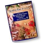 AlpineAire Black Bart Chili With Beans - 2 Servings