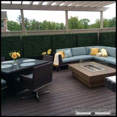 Boxwood Outdoor Artificial Hedges with Modern Planters x Artificial Green Wall, Artificial Hedges, Artificial Plants And Trees, Artificial Boxwood, Artificial Flowers, Dry Plants, Indoor Plants, Modern Planters, Balcony Planters