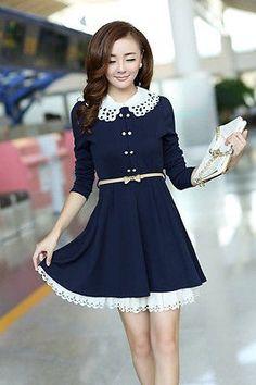 Elegant Autumn Dress