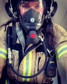 Gas Mask Girl, Female Firefighter, Respirator Mask, Character, Firefighters, Women, Masks, Women Firefighters, Lettering