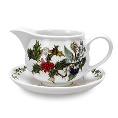 Portmeirion Holly And Ivy Gravy Boat And Stand, 2015 Amazon Top Rated Gravy Boats & Stands #Kitchen