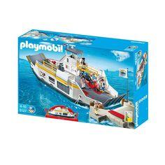 Køb Playmobil Færge til biler - nr. City Life, Playmobil, Velvet