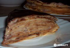 Gesztenyés rakott palacsinta Waffles, Pancakes, Food, Essen, Waffle, Pancake, Meals, Yemek, Eten