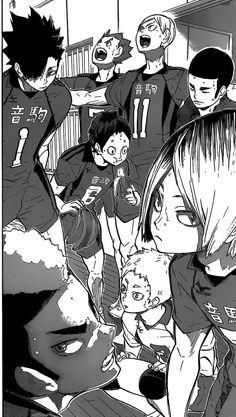 Manga Haikyuu, Haikyuu Nekoma, Kuroo Tetsurou, Kenma, Nishinoya, Haikyuu Characters, Anime Characters, All Anime, Anime Guys