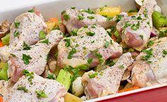 Baked Chicken Vegetables bake