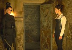 Pride and Prejudice and Zombies, Lady Catherine and Elizabeth Bennet