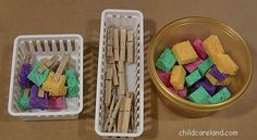 Sponge Fine Motor Development  -  Pinned by @PediaStaff – Please Visit http://ht.ly/63sNt for all our pediatric therapy pins