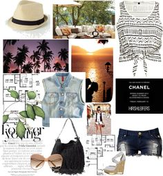tribal, created by kayluhn on Polyvore