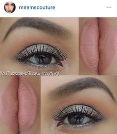 Too Faced Sweet Peach olive green look - Bless Her Heart on the lid #toofaced #sweetpeachpalette